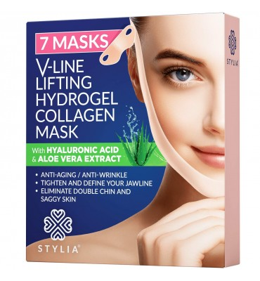 V-Line Lifting Masque Anti-Rides Acide hyaluronique et Collagène